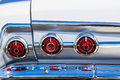 Vintage Automobile Tail & Chrome Bumber lights Royalty Free Stock Photo