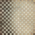 Vintage background with chequered chess ornament Royalty Free Stock Photography