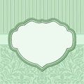 Vintage background with floral ornaments and decorative frame Royalty Free Stock Photo