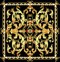 vintage background with gold pattern and precious