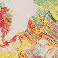 Vintage background with marbled paper watercolor Royalty Free Stock Photo