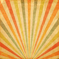 Vintage background Multi color rising sun or sun ray Royalty Free Stock Photo