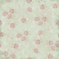 Vintage background pattern with roses Stock Photos