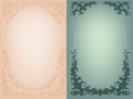 Vintage background rich baroque decoration with Stock Photography