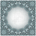 Vintage background with silver pattern