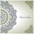 Vintage background traditional ottoman motifs vector illustration Royalty Free Stock Photos