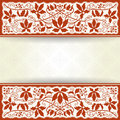 Vintage background the vector image Royalty Free Stock Photography