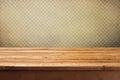 Starodávný dřevěný paluba stůl přes tapeta na plochu čtverce