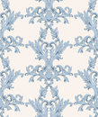 Vintage Baroque damask floral pattern acanthus Imperial style. Vector decor background. Luxury Classic ornament. Royal