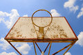 Vintage basketball Royalty Free Stock Image