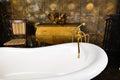 Vintage bath Royalty Free Stock Photo