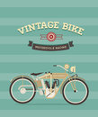 Vintage bike Stock Images