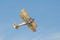 Vintage biplane Royalty Free Stock Photo