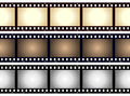 Vintage Blank Film Strip Frame Royalty Free Stock Photo