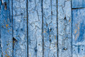 Vintage blue wooden wall Royalty Free Stock Images