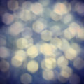 Vintage bokeh background toned for Stock Image