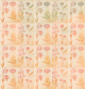 Vintage botanical background Royalty Free Stock Photography
