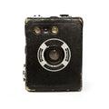Vintage box camera Royalty Free Stock Photo