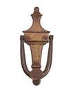 Vintage brass door knocker Royalty Free Stock Photo