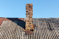 Vintage brick chimney Royalty Free Stock Photo