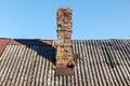 Vintage brick chimney Royalty Free Stock Photo