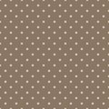 Vintage brown background with grunge polka dots Royalty Free Stock Photos