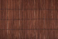 Vintage brown bamboo wood mat background texture Royalty Free Stock Photo