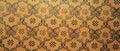 Vintage brown damask seamless pattern background Royalty Free Stock Photo