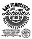 Vintage brush script lettering font Royalty Free Stock Photo