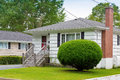 Vintage bungalow north american from the seventies Royalty Free Stock Photo