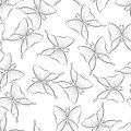 Vintage butterflies fly. Seamless pattern background with insect. The spring motive for textiles.