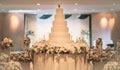 Vintage Cake decorate for Wedding Ceremony