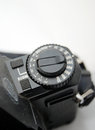 Vintage camera sensitivity dial picture of a Royalty Free Stock Photography