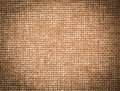 Vintage canvas background textured brown Royalty Free Stock Photography