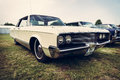 Vintage car Chrysler New Yorker, 1965 Royalty Free Stock Photo