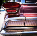 Vintage car close up headlight of a Stock Photography