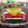 Vintage car DeSoto Stock Photo