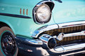 Vintage Car Front Detail Royalty Free Stock Photo
