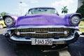 Vintage car in Havana, Cuba Royalty Free Stock Photo