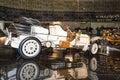 Vintage car mercedes ps doppelphaeton stuttgart germany march benz museum Stock Image