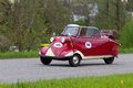 Vintage car Messerschmitt KR 200 from 1955 Royalty Free Stock Photos