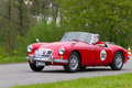 Vintage car MG MGA 1600 from 1959 Stock Photo