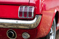 Vintage car, rear view Royalty Free Stock Photo