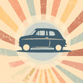 Vintage car vector retro illustration suitable for promotion t shirt designs etc Stock Photos