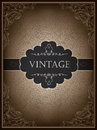 Vintage card design template Royalty Free Stock Images