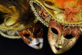 Vintage carnival masks Royalty Free Stock Photo