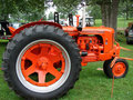 Vintage Case Tractor Royalty Free Stock Images
