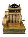 Vintage cash-desk Royalty Free Stock Photo