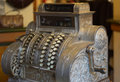 Vintage cash register Royalty Free Stock Images