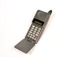 Vintage Cell Mobile Phone Royalty Free Stock Photo